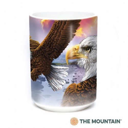 Eagles & Clouds Ceramic Mug | The Mountain®